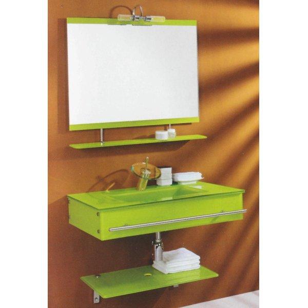T830a мебель для ванной комнаты стеклянная senli