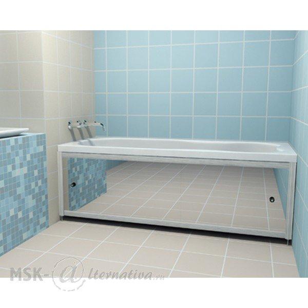 Панель для ванны раздвижная своими руками
